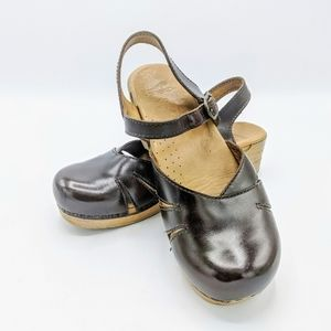 Dansko Mary Janes with strapped back size 40